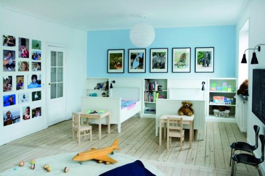inredning barnrum. Black Bedroom Furniture Sets. Home Design Ideas